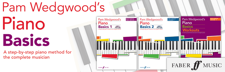 Pam Wedgwood's Piano Basics