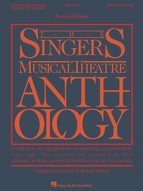 Singers Musical Theatre Anthology 1 Baritone Bass published by Hal Leonard