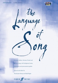 The Language of Song Advanced (Low voice) published by Faber