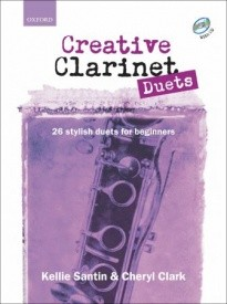 Creative Clarinet Duets by Santin and Clark  for Clarinet published by Oxford University Press (OUP)