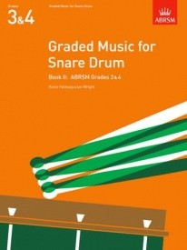 Graded Music for Snare Drum Book 2 published by Associated Board of the Royal Schools of Music (ABRSM)