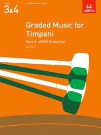 Graded Music for Timpani Book 2 published by Associated Board of the Royal Schools of Music (ABRSM)