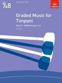 Graded Music for Timpani Book 4 published by Associated Board of the Royal Schools of Music (ABRSM)