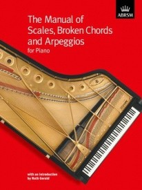 Manual of Scales, Broken Chords and Arpeggios for Piano published by ABRSM