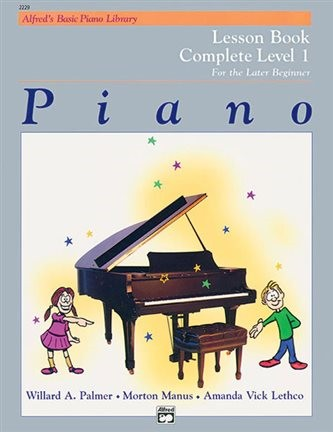 Alfred Basic Piano Lesson Book Complete Level 1