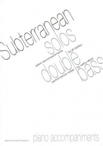Subterranean Solos Piano Accompaniment for Double Bass published by Bartholomew