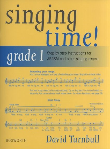 Singing Time Grade 1 published by Bosworth