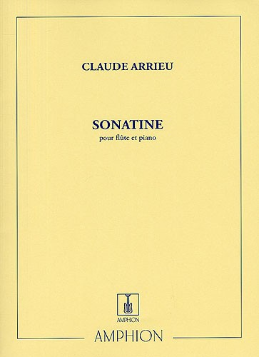 Sonatine by Arrieu for Flute published by Amphion