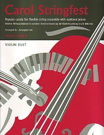 Carol Stringfest for Violin Duet published by Faber