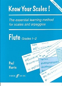 Know Your Scales Grade 1 and 2 Flute for Flute published by Faber