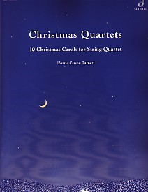 Christmas Quartets 10 Carols for String Quartet for String Ensemble published by Schott and Co