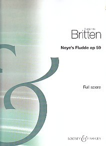 Noye's Fludde - Full Score by Britten published by Boosey and Hawkes