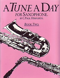 A Tune a Day Book 2 for Saxophone published by Boston Music Co