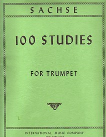 100 Studies by Sachse for Trumpet published by International Music Company (IMC)
