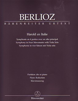 Harold in Italie by Berlioz for Viola published by Barenreiter