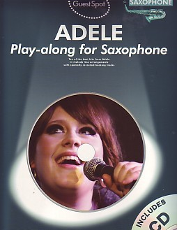 Guest Spot : Adele Book & CD for Alto Saxophone published by Wise