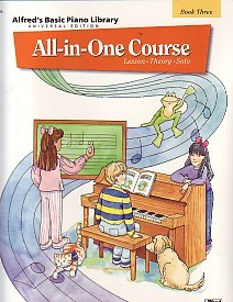 Alfred Basic Piano All in one Course Book 3 by Alfred for Piano published by Alfred