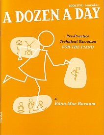 Dozen a Day Book 5 (Intermediate) by Burnam for Piano published by Willis Music