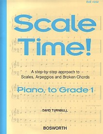 Scale Time Grade 1 by Turnbull for Piano published by Bosworth