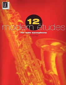 12 Modern Studies - Saxophone by Rae for Saxophone published by Universal Edition