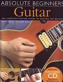 Absolute Beginners Book & CD for Guitar published by Wise
