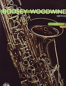Boosey Woodwind Method 1 Book & CD for Alto Saxophone published by Boosey and Hawkes
