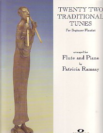 22 Traditional Tunes for Beginner Flautist published by Fentone