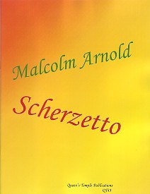 Scherzetto Arnold by Arnold for Clarinet published by Spartan Press