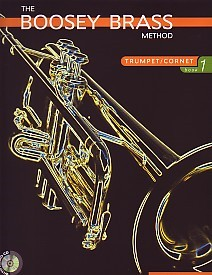 Boosey Brass Method 1 Book & CD for Trumpet or Cornet