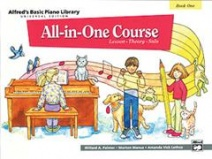 Alfred Basic Piano All in one Course Book 1