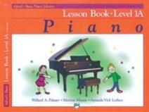 Alfred Basic Piano Lesson Book Level 1a Book & CD