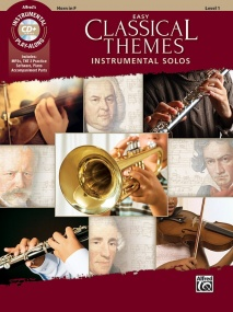 Easy Classical Themes Instrumental Solos published by Alfred - Horn in F
