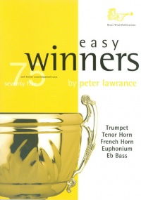 Easy Winners for Treble Clef Brass Book & CD published by Brasswind