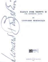 Bernstein: Elegy for Mippy II for Trombone published by Boosey & Hawkes