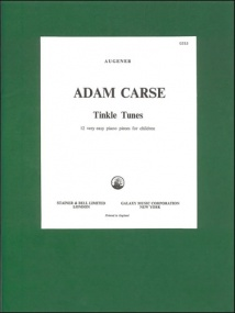 Carse: Tinkle Tunes for Piano published by Stainer & Bell