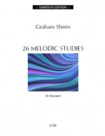 26 Melodic Studies by Sheen for Bassoon published by Emerson