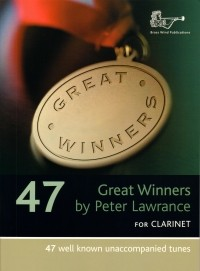 Great Winners for Clarinet published by Brasswind