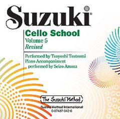 Suzuki Cello School Volume 5 CD Only published by Alfred