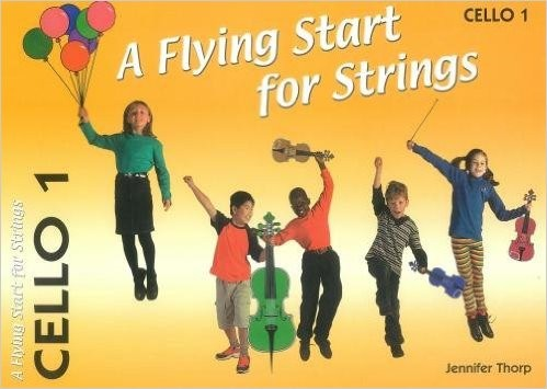 A Flying Start for Strings - Volume 1 for Cello published by Flying Start