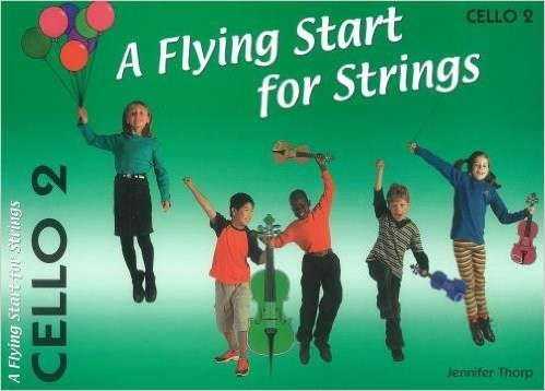 A Flying Start for Strings - Volume 2 for Cello published by Flying Start