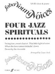Arch: Four Jazz Spirituals SA(Bar/A) published by Faber