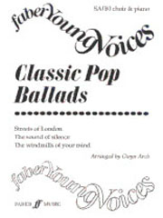 Arch: Classic Pop Ballads SA(Bar/A) published by Faber