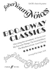 Broadway Classics SA(Bar/A) published by Faber