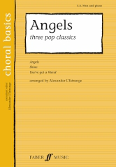 Angels: Three Pop Classics for SA/Men published by Faber