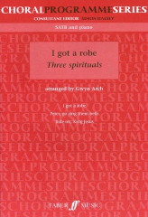 Arch: I Got A Robe Three Jazz Spirituals SATB published by Faber