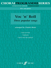 Beale: Voc 'n' Roll for Upper Voices published by Faber
