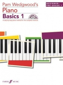 Wedgwood: Piano Basics 1 Book & CD published by Faber