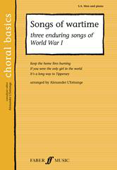 Songs of Wartime SA/Men published by Faber
