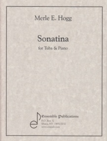 Hogg : Sonatina for Tuba published by Ensemble