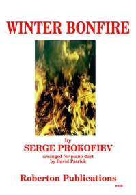 Prokofiev: Winter Bonfire for Piano Duet published by Roberton